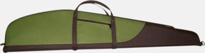 Grön Stora vapenfodral med tryck