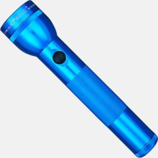 Blå Maglites LED 2D med reklamgravyr