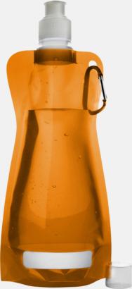Orange Reklamvattenflaska med egen logga