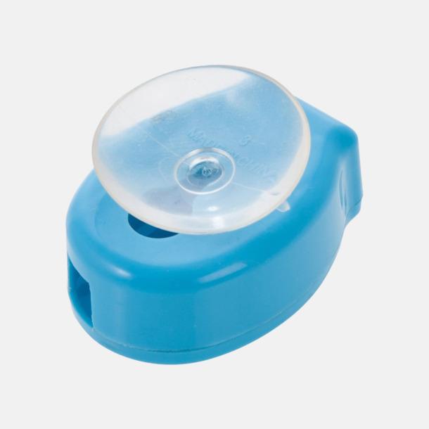 Ljusblå (undersida) Tandborstslock med sugpropp - med reklamtryck