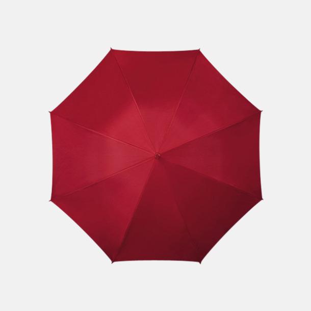 Vinröd (PMS 504C) Färgstarka och eleganta paraplyer med reklamtryck