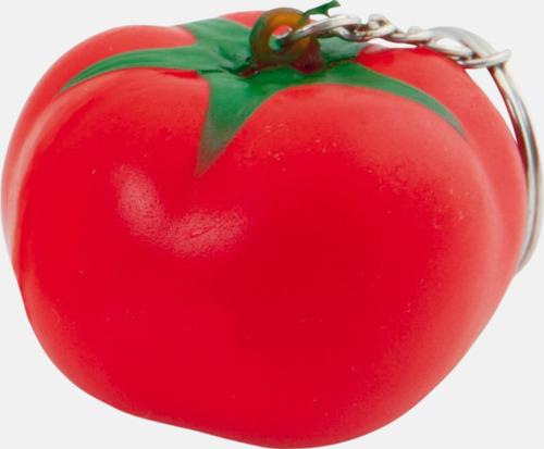 Tomat Stressbollar i form av olika frukter - med reklamtryck