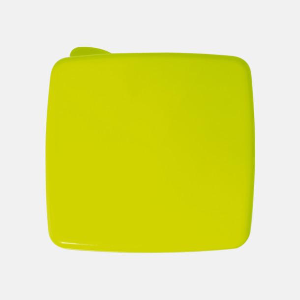 Ljusgrön Matlåda med kylare i locket - med reklamtryck