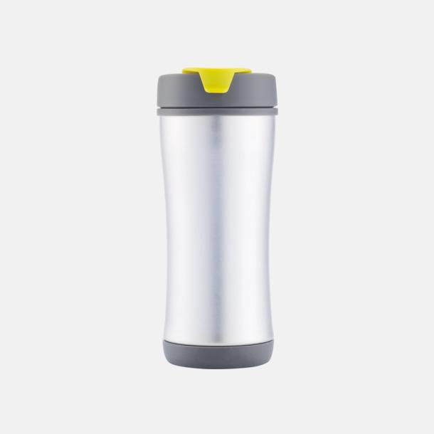 Limegrön Lättåteranvändbara vattenflaskor med tryck