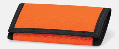 Orange Plånböcker med tryck