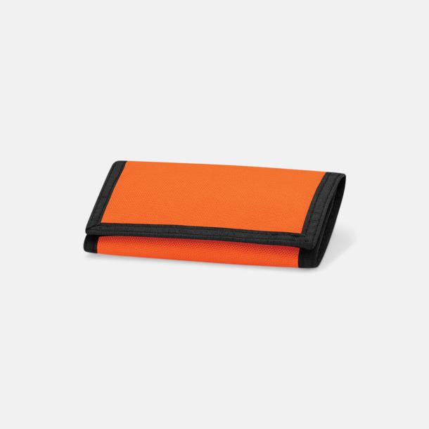 Orange Plånböcker med reklamtryck