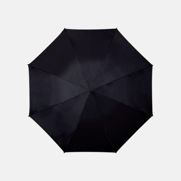 Svart Färgstarka och eleganta paraplyer med reklamtryck