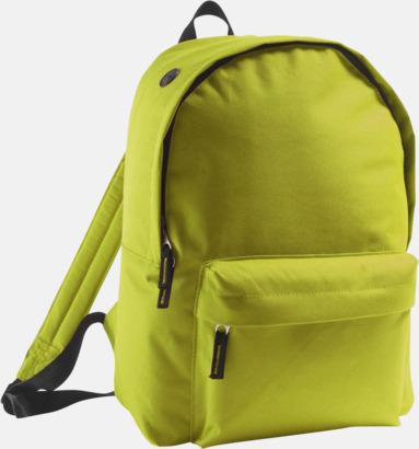 Apple Green Billiga ryggsäckar med ege tryck