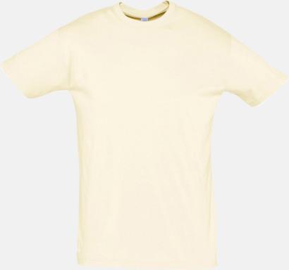 Natural Billiga herr t-shirts i rmånga färger med reklamtryck