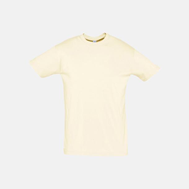 Natur Billiga unisex t-shirts i många färger med reklamtryck