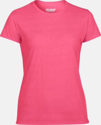 Safety Pink Fräshcare funktionströjor med tryck