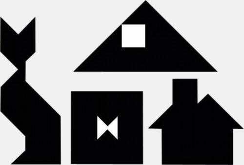 Kinesiska tangram med reklamtryck