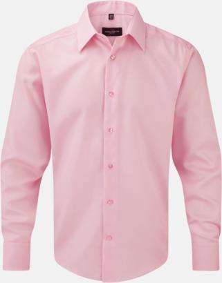 Classic Pink (långärmad) Strykfri businessskjorta
