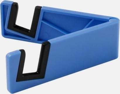 Blå Praktiskt ställ för surfplattor och smartphones