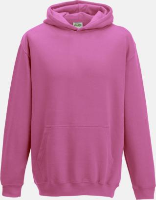 Candyfloss Pink Huvtröjor för barn i många färger - med reklamtryck