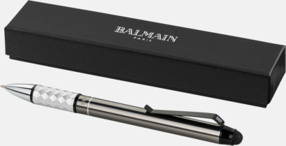 Balmain stylus- & kulspetspenna eller rollerballpenna med reklamlogo