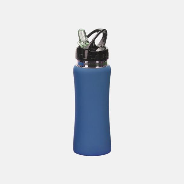 Blå Vattenflaskor i många färger - med reklamtryck