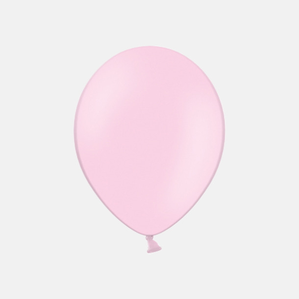 004 Pink pms182 Reklamballonger med fototryck