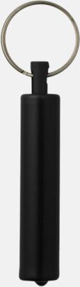 Ficklampa med nyckelring i retrodesign med reklamtryck
