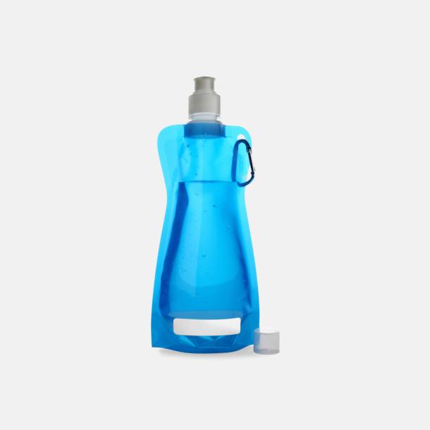 Blå Reklamvattenflaska med egen logga
