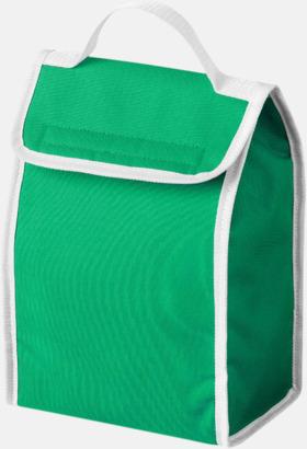 Klargrön/Vit Liten kylväska för lunchen med reklamtryck