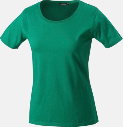 Irish Green T-shirtar av kvalitetsbomull med eget tryck