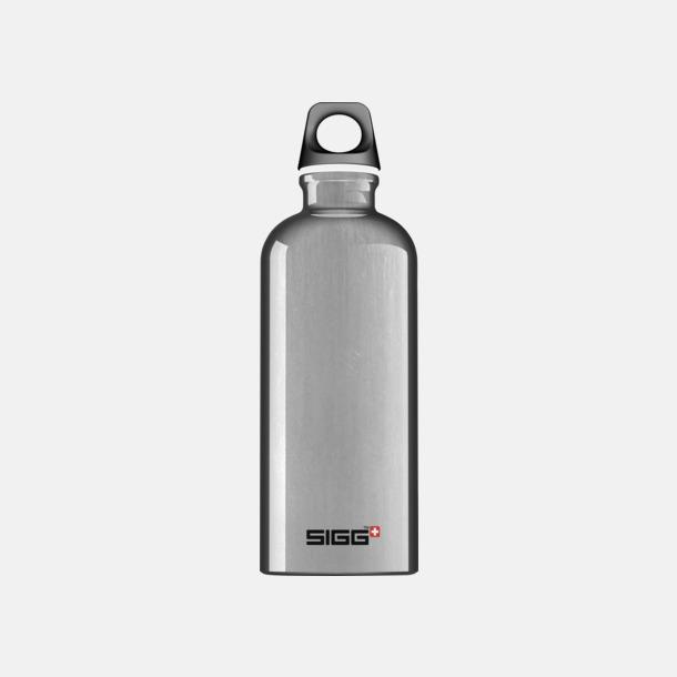 Aluminium (0,6 liter) Äkta SIGG-flaskor med eget tryck