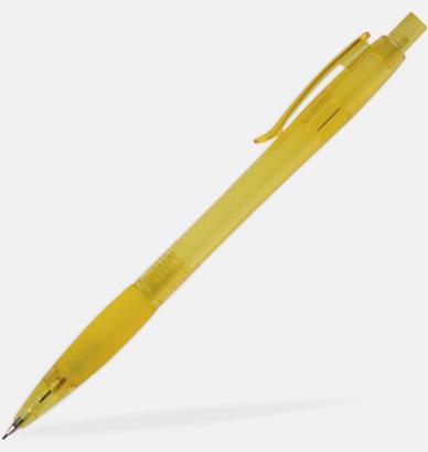 Gul Fräscht färgglad stiftpenna med tryck