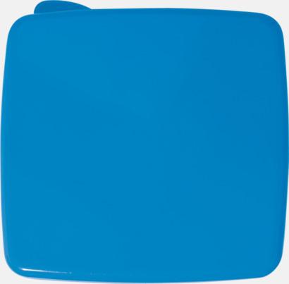 Blå Matlåda med kylare i locket - med reklamtryck