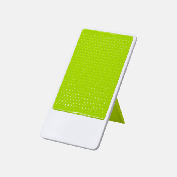 Limegrön / Vit Glidskyddbehandlat mobilställ med tryck