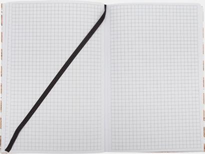Anteckningsbok på 100 sidor - med reklamtryck