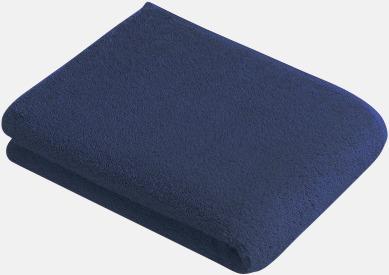 Mörkblå Mjuka bomullshanddukar i 5 storlekar med reklambrodyr