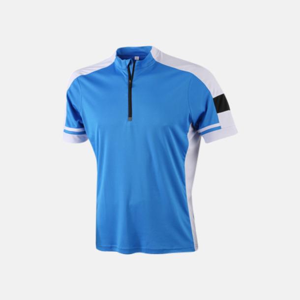 Cobalt (herr) Herr- och dam cykeltröjor med reklamtryck