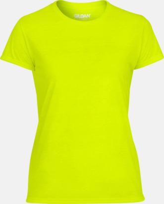 Safety Green Fräshcare funktionströjor med tryck