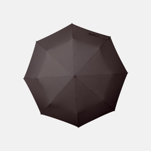 Mörkgrå Paraplyer med tryck