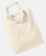 Mediumstor bomullspåse med eget tryck