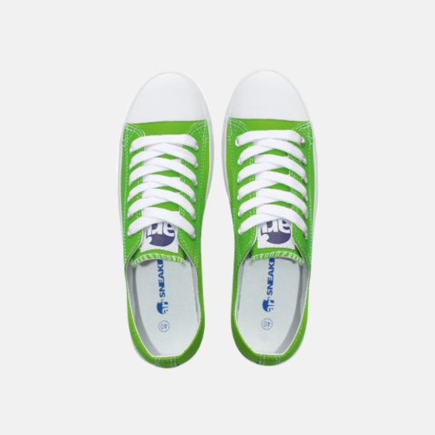 Standardfärg Grön Egendesignade sneakers