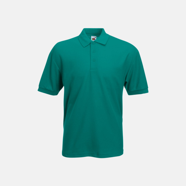 Emerald Pikétröjor med reklamtryck eller brodyr