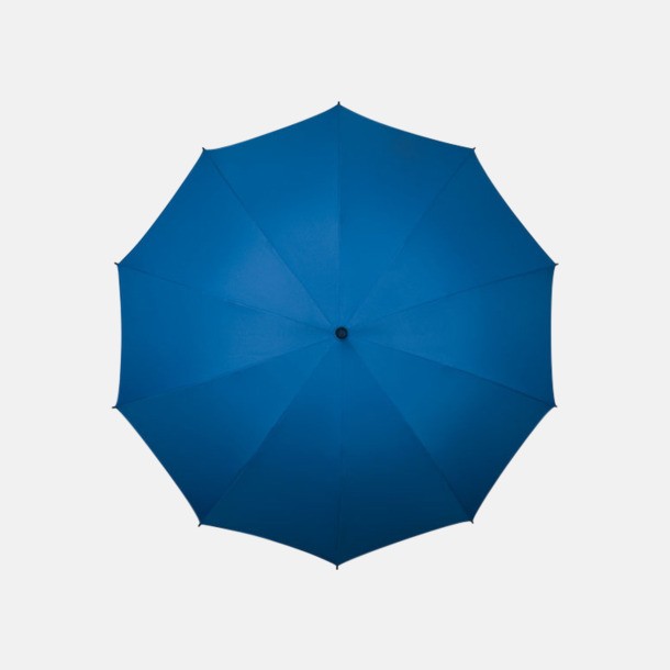 Blå (PMS 293C)  Stora golfparaplyer med eget reklamtryck