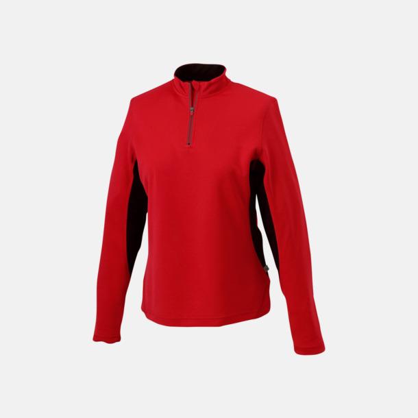 Berry/Svart Träningskläder med eget tryck