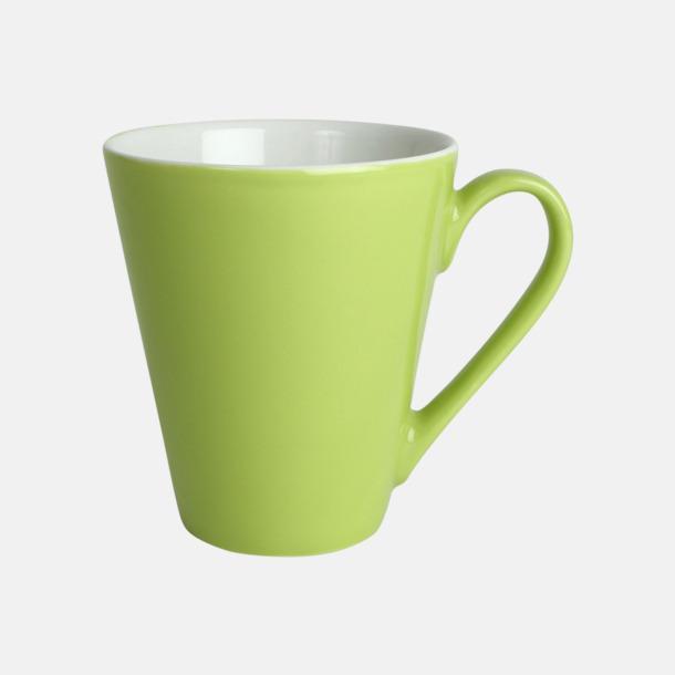 Lime Klassiskt kaffekopp i mångar fina färger