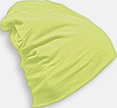 Soft Green Bomullsmössor med många reklamtryck möjligheter