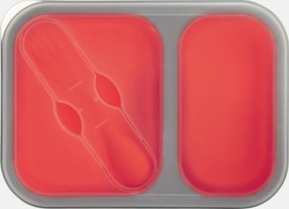 Röd Silikonmatlådor med reklamtryck