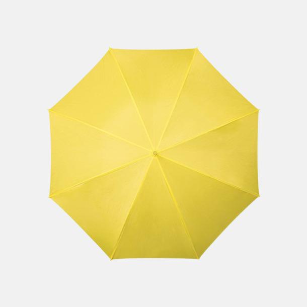 Gul (PMS 102C) Färgstarka och eleganta paraplyer med reklamtryck