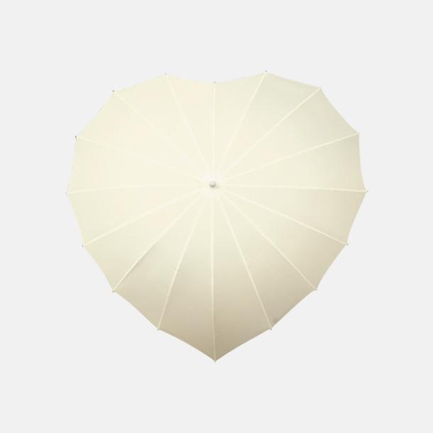 Off-white Hjärtformade paraplyer med eget reklamtryck