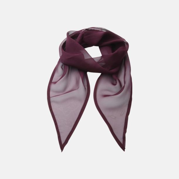 Aubergine Tunna accessoarscarfs i många färger