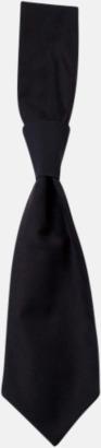 Svart (slips) Ready-to-wear slipsar och kravatter med eget tryck