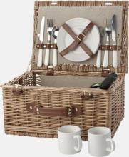 Picknickset för 2 eller 4 personer i klassisk form
