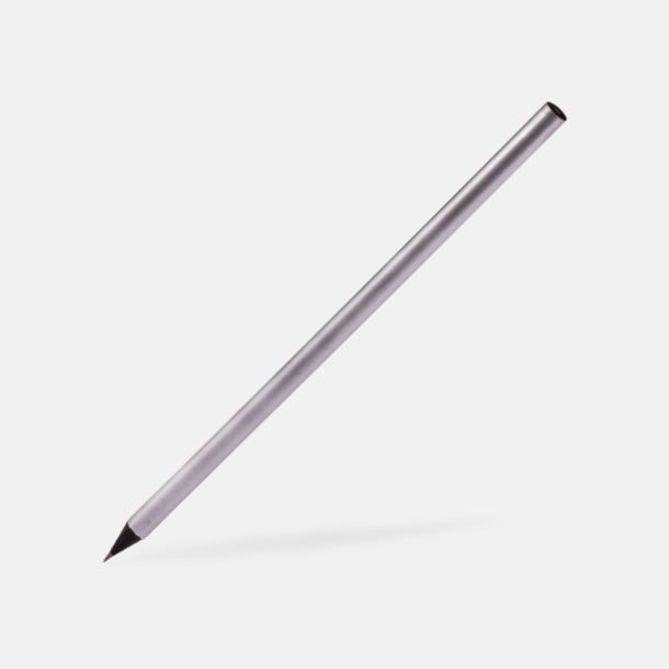 Silver Guld- eller silverfärgade blyertspennor med reklamtryck