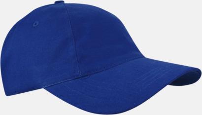 Royal Blue Sportiga kepsar med brodyr eller tryck